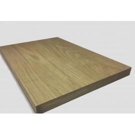 Piano in legno su misura di rovere