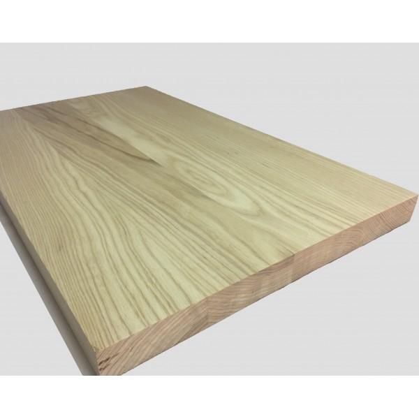 Piano in legno su misura di frassino