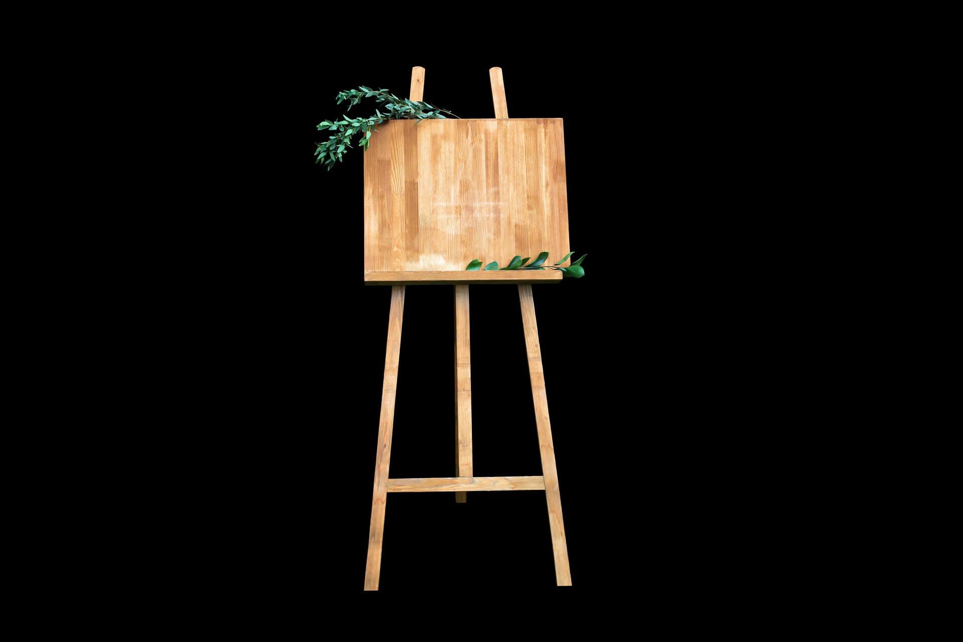 come costruire cavalletto in legno