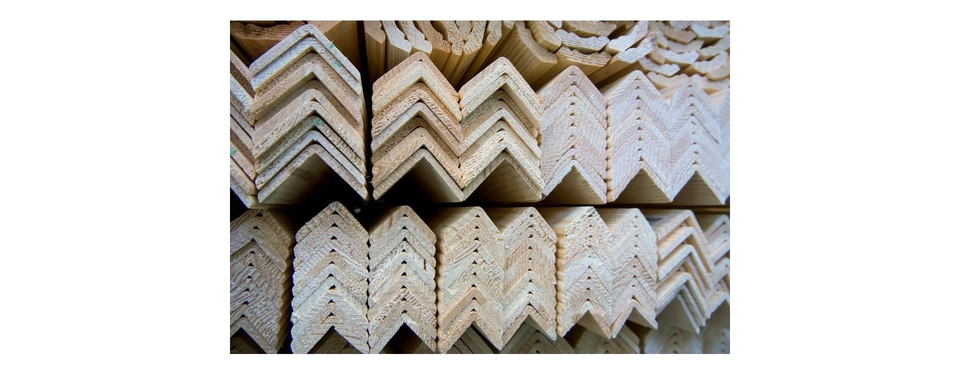 Profilo di finitura in legno: caratteristiche e usi pratici